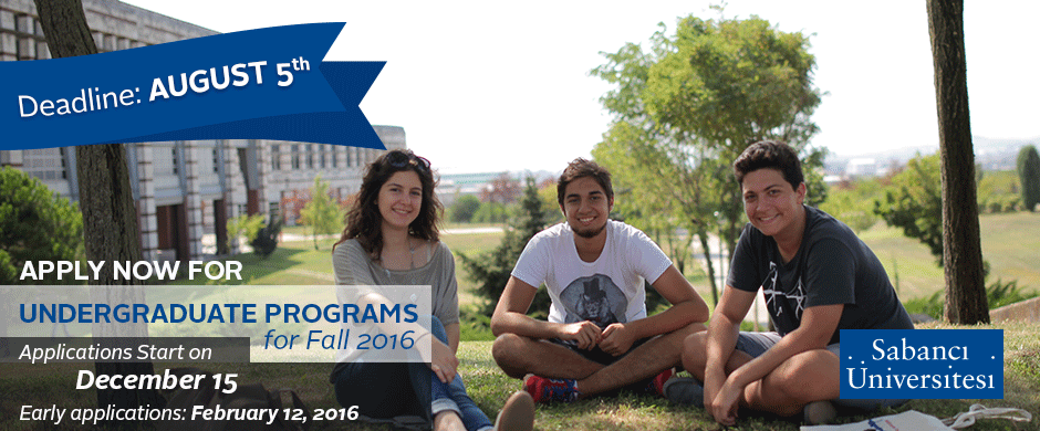 Apply Now For Undergraduate Programs !