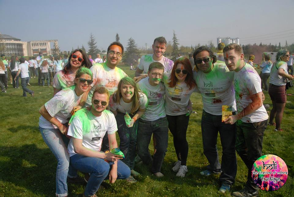 Sabancı Students at HoliFest